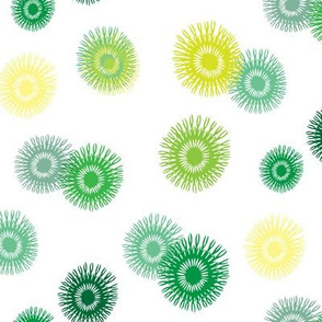 Spring Green abstract floral_Miss Chiff Designs