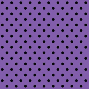 halloween » dotty black on purple