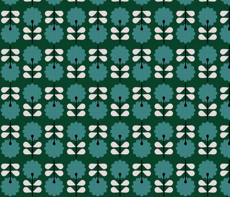 Vilda Blommor fabric by brainsarepretty on Spoonflower - custom fabric