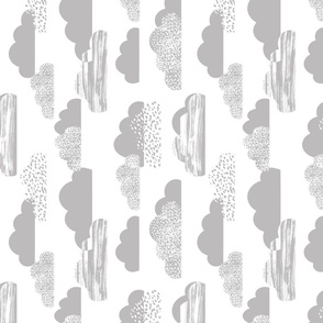clouds white grey baby nursery fabric clouds fabric light grey fabric clouds nursery cute painted