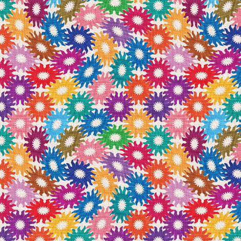 Suns&Suns fabric by leventetladiscorde on Spoonflower - custom fabric