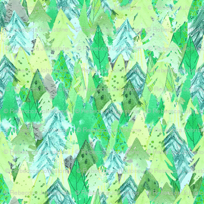Woodland Forest - Green