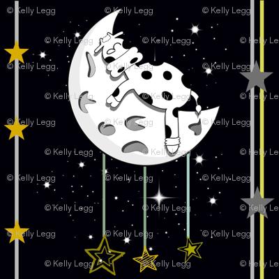 And the cow fell asleep on the moon