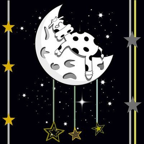 And the cow fell asleep on the moon