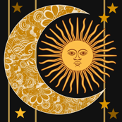 Sun,Moon and Stars