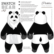 Pickles the Panda Swatch Bear Kit
