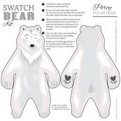 Percy the Polar Bear Swatch Kit