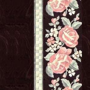 Marble Rose Border