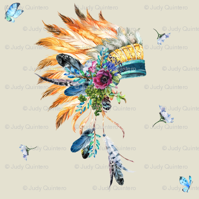 indian feathers clipart