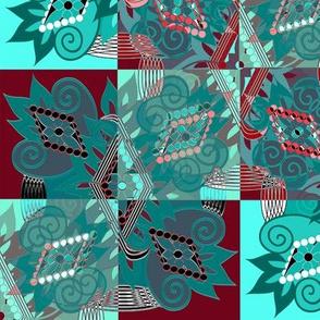 Diamond Flower Quilt