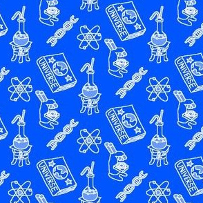 Tools of Science Blue