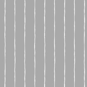 pinstripes white on light slate grey » halloween - monochrome