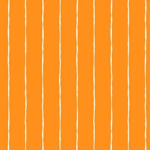 pinstripes white on orange » halloween
