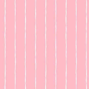 pinstripes white on light baby pink » halloween
