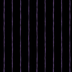 pinstripes purple on black » halloween
