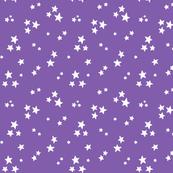 starry white on purple » halloween stars