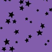 starry LG black on purple » halloween stars