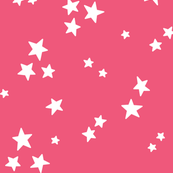 starry LG white on hot pink » halloween stars