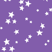 starry LG white on purple » halloween stars