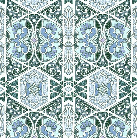 Moonlight Midnight fabric by edsel2084 on Spoonflower - custom fabric