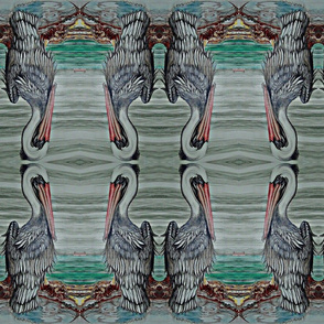 Hand_painted_Ocean_Pelican