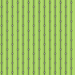 Spring Green Stars and Stripes