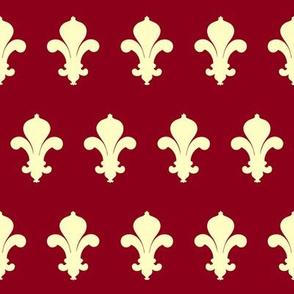 FleursDeLysPatternColour1