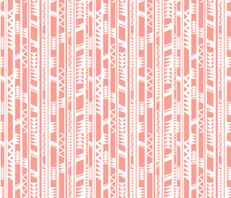 Pink shot fabric by floramoon on Spoonflower - custom fabric