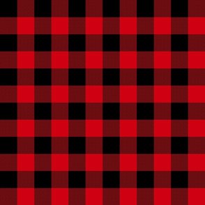 "1.5"" Rob Roy Macgregor tartan / Buffalo plaid"