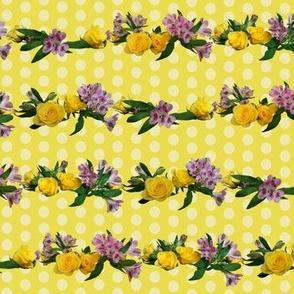 Garlands_on_yellow_polka_dots