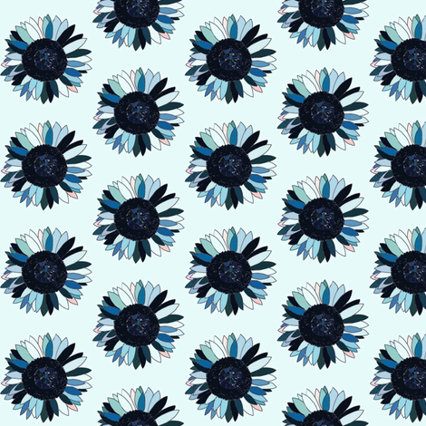 Cloudyflower fabric by kgburns747 on Spoonflower - custom fabric