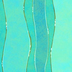 Seaweed Turquoise Aqua 150