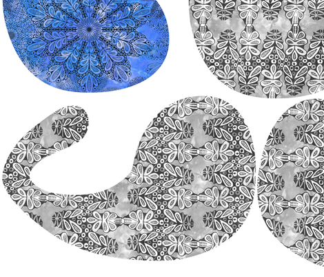 Yin_Yang_Icy_Lace-Jamie_Kalvestran_Scrap-bags fabric by scrap-bags on Spoonflower - custom fabric