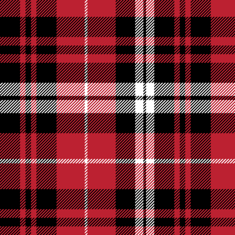 fall plaid || black red and white fabric by littlearrowdesign on Spoonflower - custom fabric