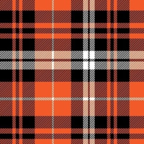 pumpkin fall plaid || orange,black,white