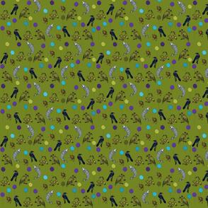 Kiwiautomata in moss