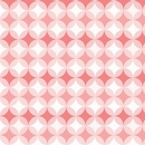 retro circles pink