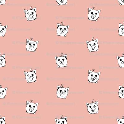 Porka Dots Pink