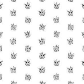 Porka Dots Grey