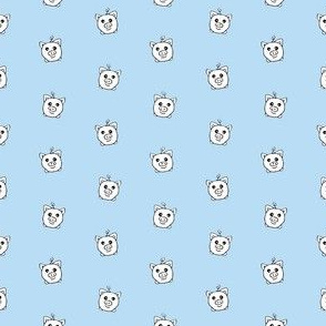 Porka Dots Light Blue