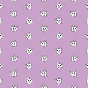 Porka Dots Lavender