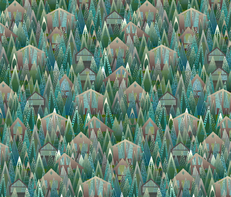 wildwood fabric by scrummy on Spoonflower - custom fabric