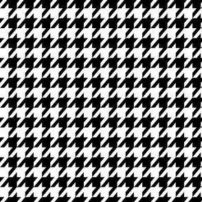 Houndstooth Black & White