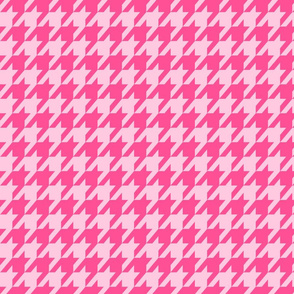 Houndstooth Pinks