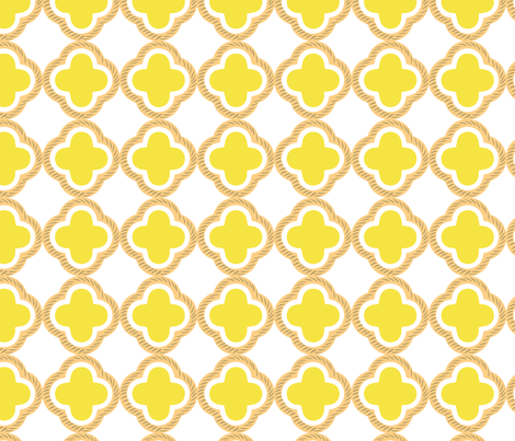 honey comb yellow LARGE fabric by jarstudio on Spoonflower - custom fabric