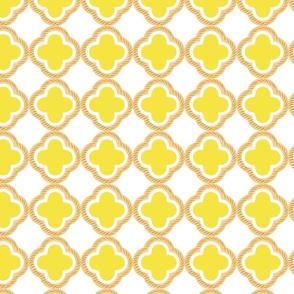honey comb yellow LARGE