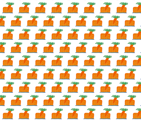 carrot_cake fabric by the_awkward_bird on Spoonflower - custom fabric