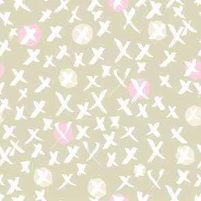 gray and pink pattern