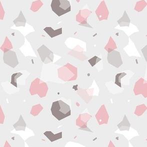 Granite/ Pink&Grey