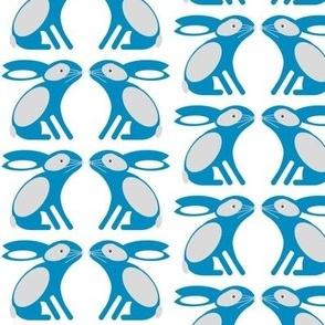Bunny Pattern Blue